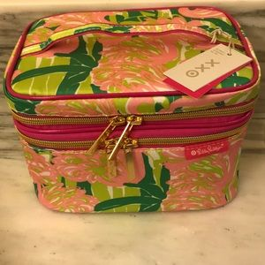 NWT Lilly Pulitzer travel cosmetic case